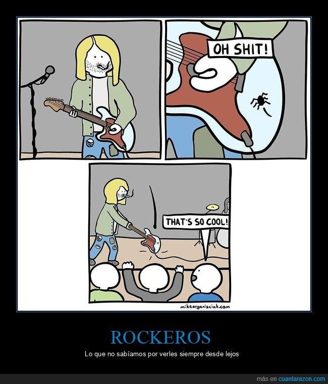 araña,concierto,guitarra
