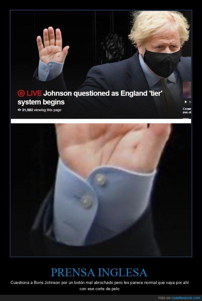 boris johnson,botón,fails,políticos