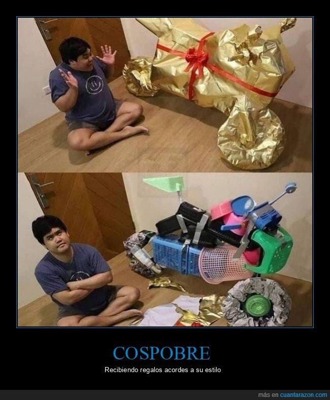 cospobre,regalo