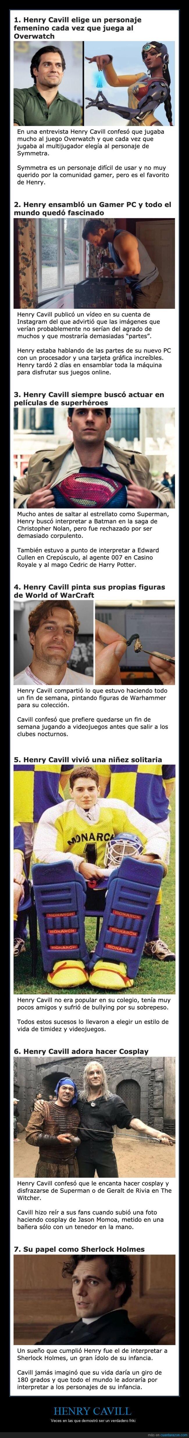 friki,henry cavill