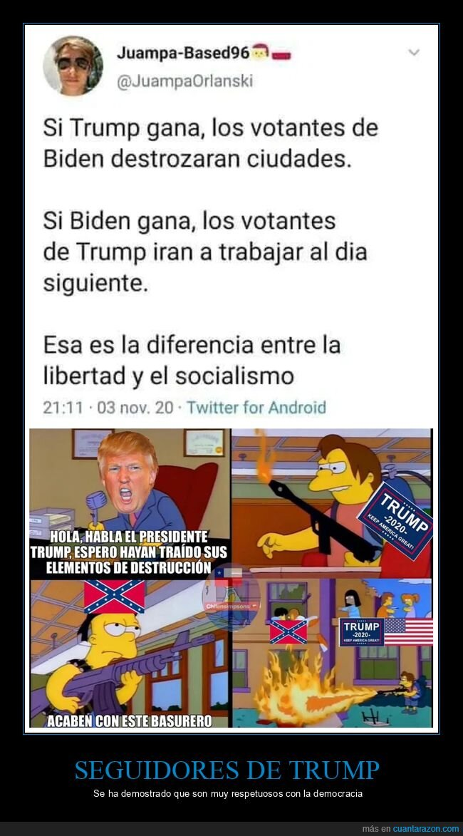 biden,donald trump,políticos,simpsons