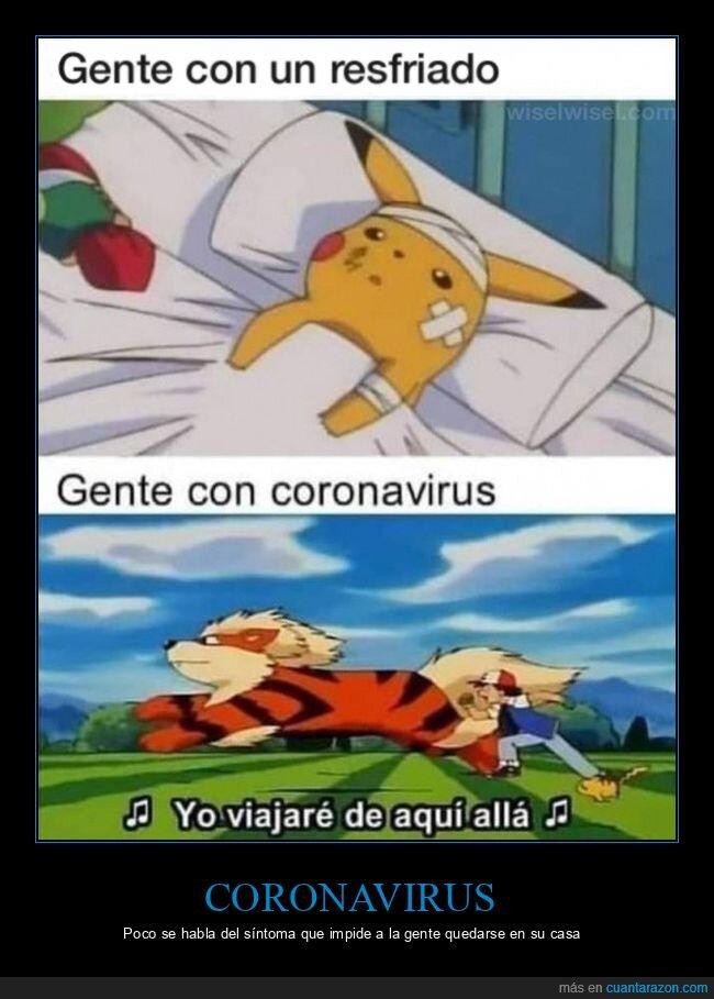 coronavirus,pokemon,resfriado