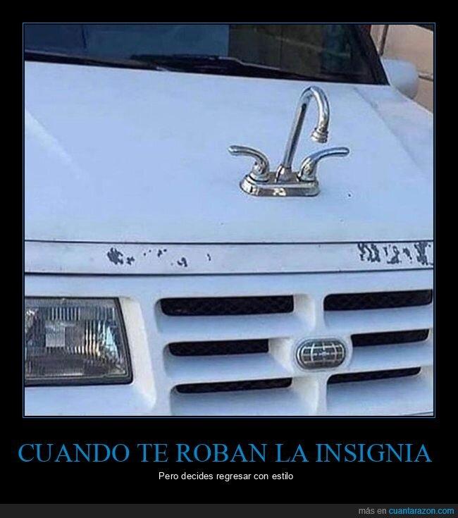 coche,grifo,insignia,wtf
