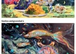 Enlace a Pinturas caprichosas que crean mundos alternativos