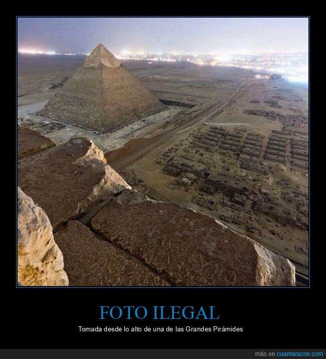 egipto,foto,ilegal,pirámides