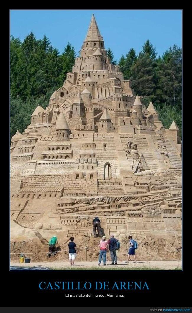 alto,castillo de arena