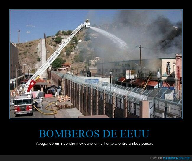 bomberos,eeuu,incendio,méxico