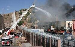 Enlace a El fuego no entiende de fronteras y estos bomberos tampoco