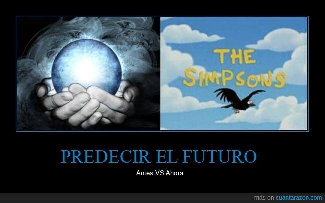 ahora,antes,futuro,predecir,simpsons