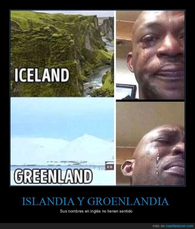 groenlandia,hielo,islandia,nombres,verde
