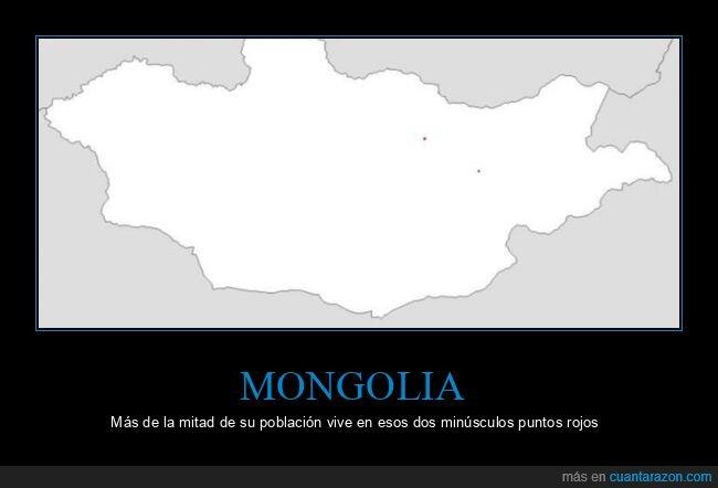 mongolia,población,puntos