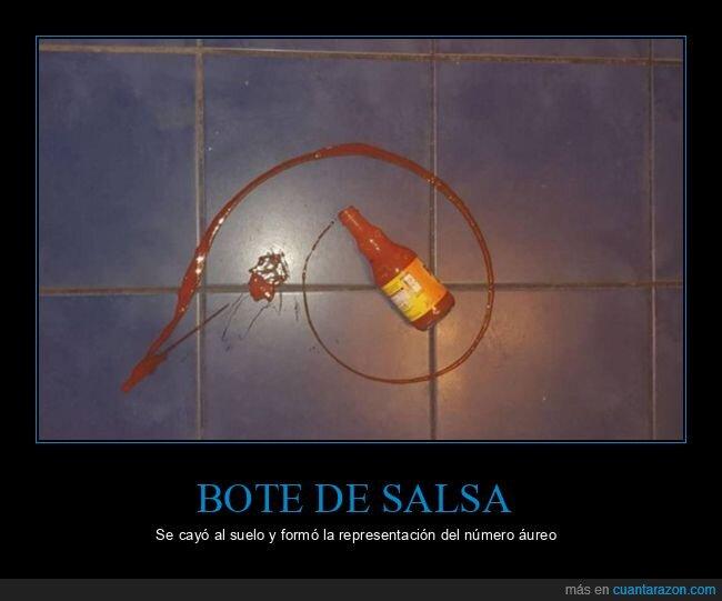 bote,número áureo,salsa,wtf