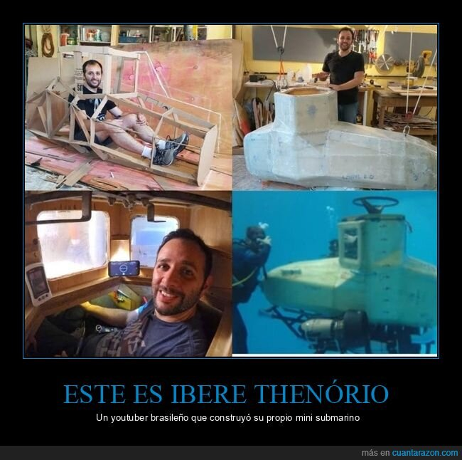 ibere thenório,submarino