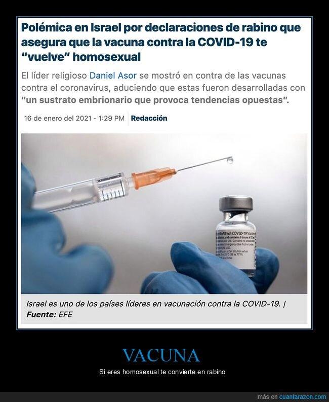 homosexual,rabino,vacuna