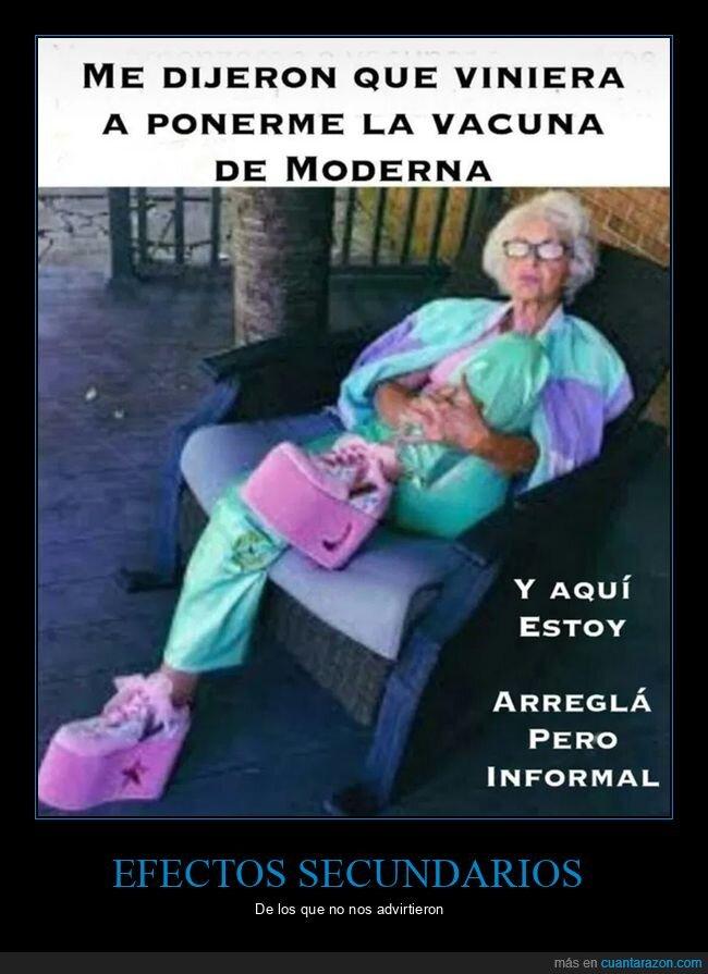 abuela,moderna,vacuna