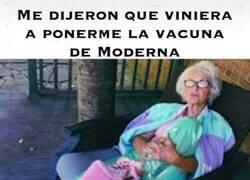 Enlace a La abuela ya se ha vacunado
