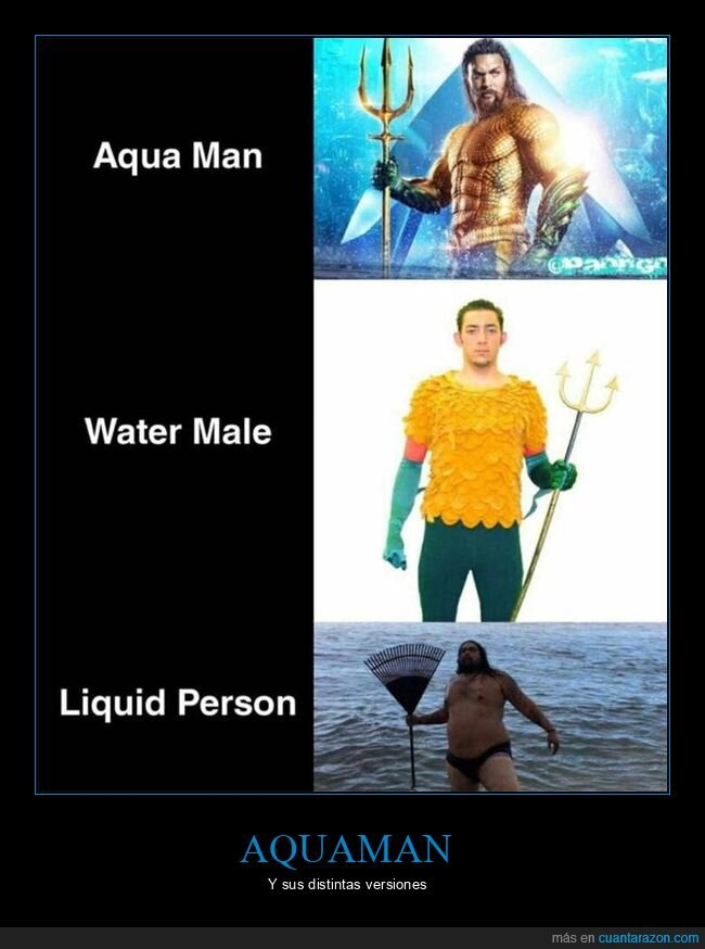 aquaman,liquid person,water male