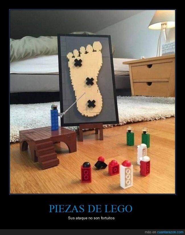 lego,pies,planificando