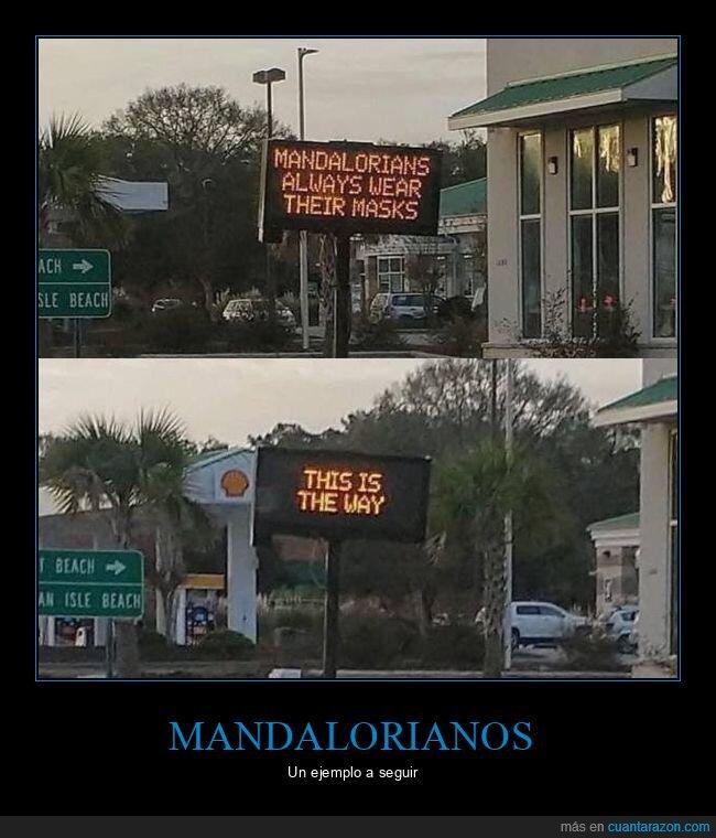 mandalorianos,mascarillas