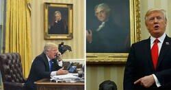"""Enlace a """"Reacciones peculiares"""" de las obras de arte de La Casa Blanca"""