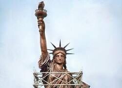 Enlace a El color original de la Estatua de la Libertad