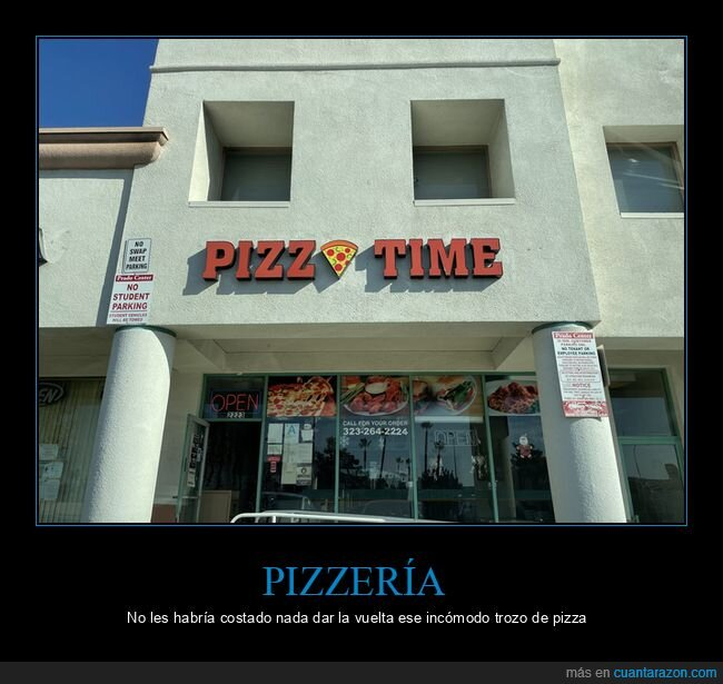 fails,letrero,pizzería