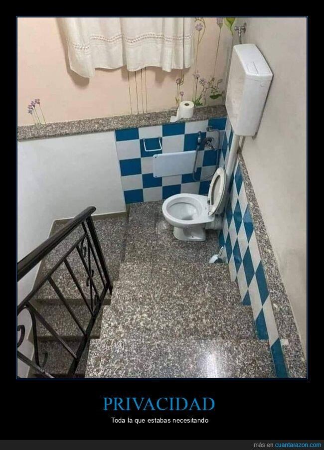 aseo,escaleras,privacidad