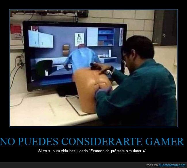 examen de próstata,simulador,wtf