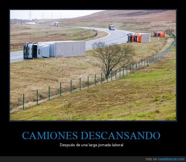 camiones,volcados,wtf