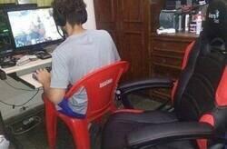 Enlace a La silla no hace al jugador