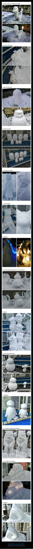 artista,figuras,japonés,nieve