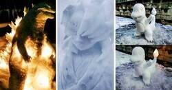 Enlace a Artista japonés aprovecha el invierno y crea asombrosas figuras de nieve