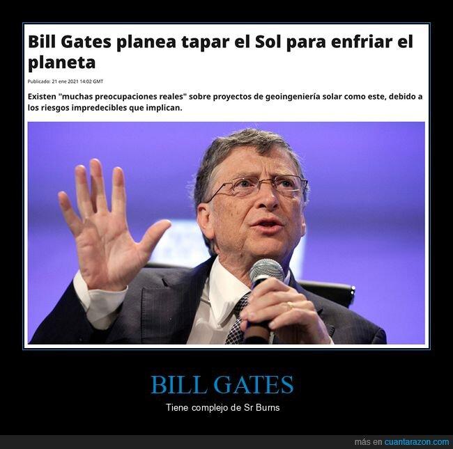 bill gates,enfriar,sol,tapar