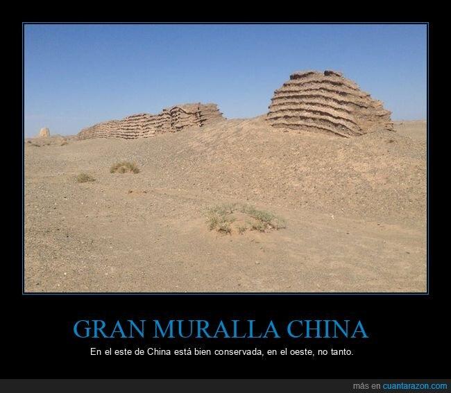 china,conservación,este,gran muralla,oeste