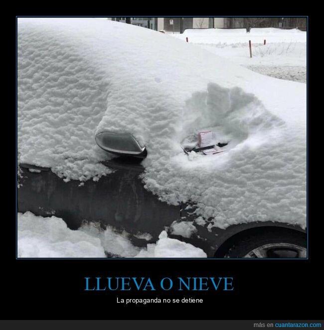coches,nieve,propaganda,wtf
