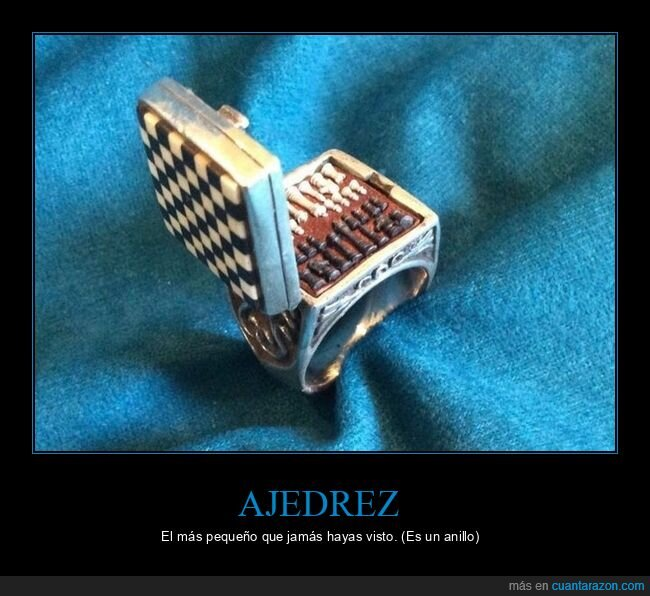 ajedrez,anillo,pequeño