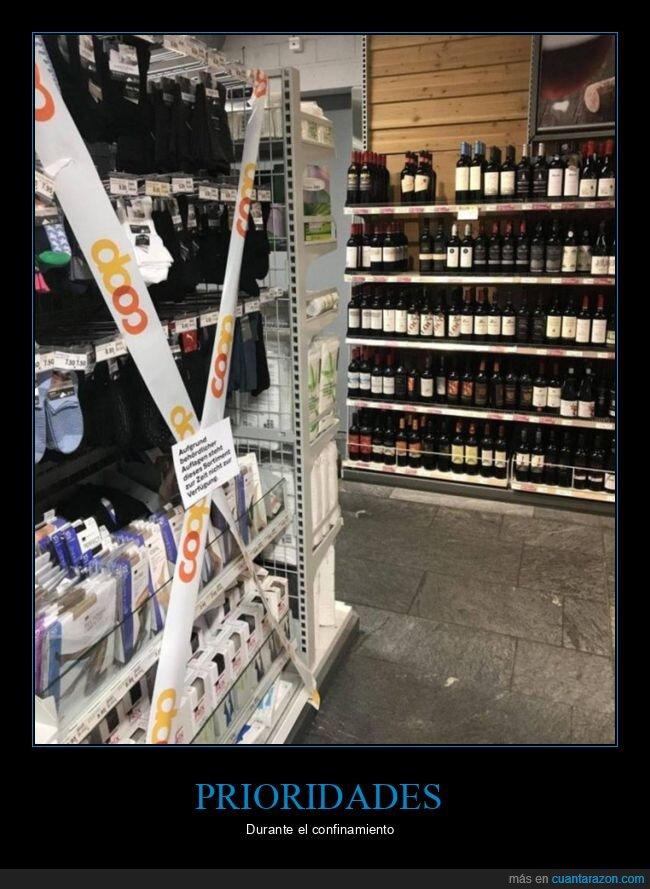alcohol,confinamiento,prioridades,suiza
