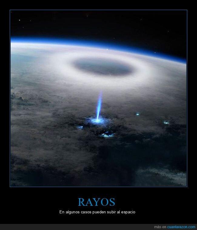 espacio,rayos