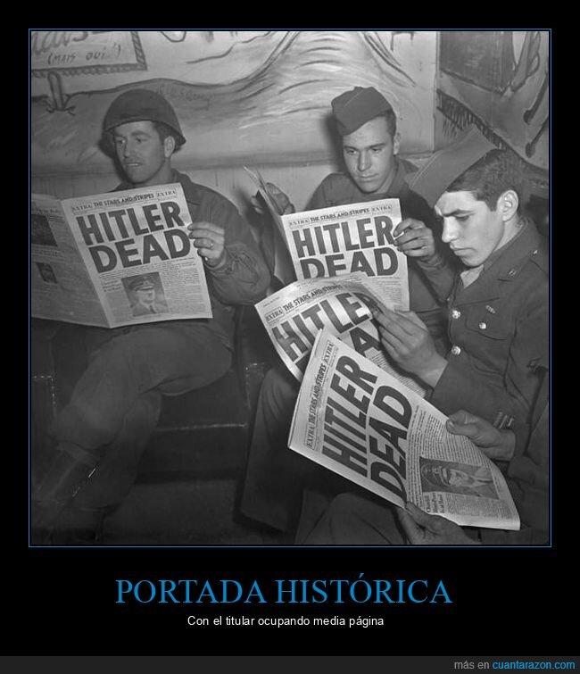hitler,muerte,periódicos
