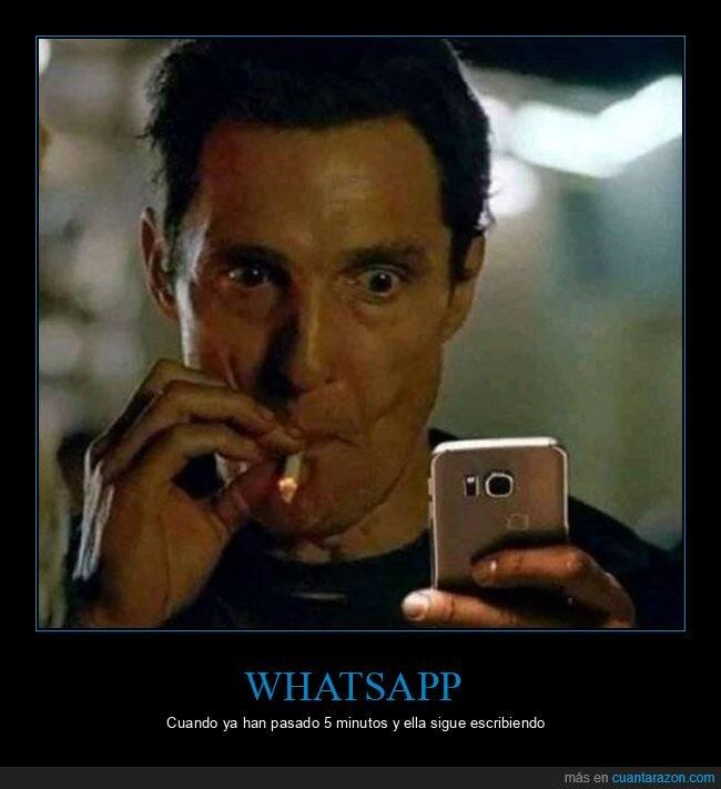 escribiendo,whatsapp