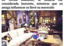 Enlace a Esta influencer roba descaradamente contenidos ajenos, y fue pillada tras afirmar que el apartamento de Friends era suyo