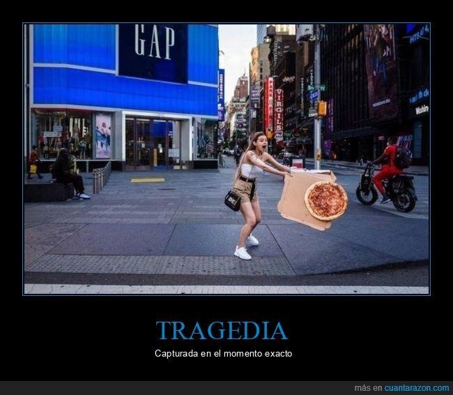 fails.momento exacto,pizza