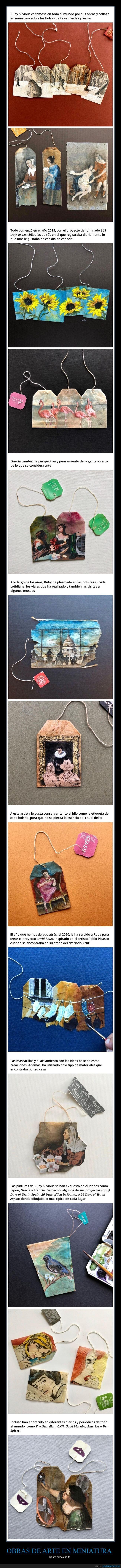 arte,bolsitas de té