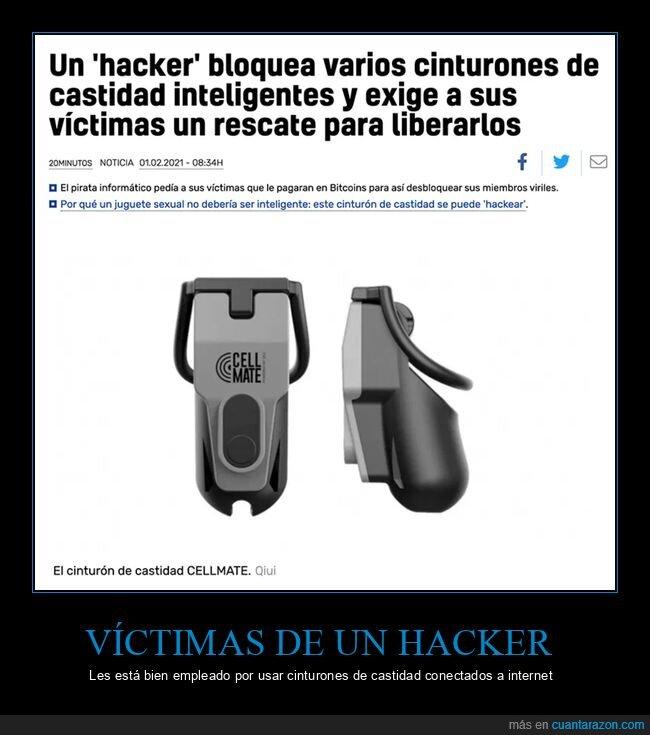 bloquear,cinturón de castidad,hacker
