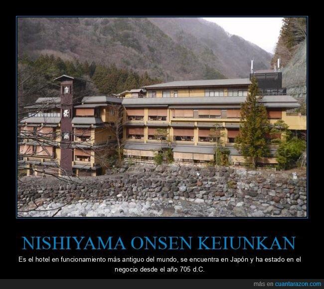 antiguo,curiosidades,hotel,nishiyama onsen keiunkan