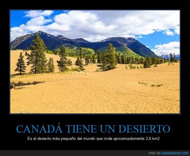canadá,desierto,pequeño