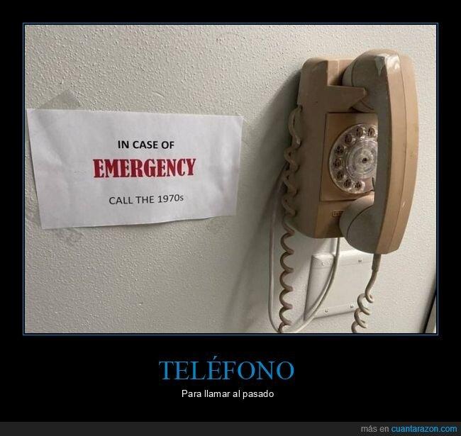 1970,emergencia,teléfono