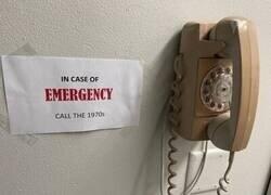 Enlace a Teléfono de emergencia