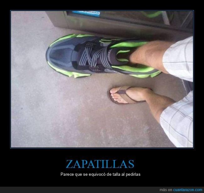 tamaño,wtf,zapatillas