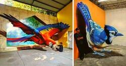 Enlace a Este artista mexicano crea ilusiones tridimensionales que dejan huella en las calles del mundo